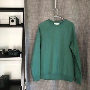 L.O.G.G H&M Green crewneck sweatshirt